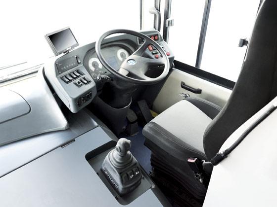 dash board of ashok leyland jan bus