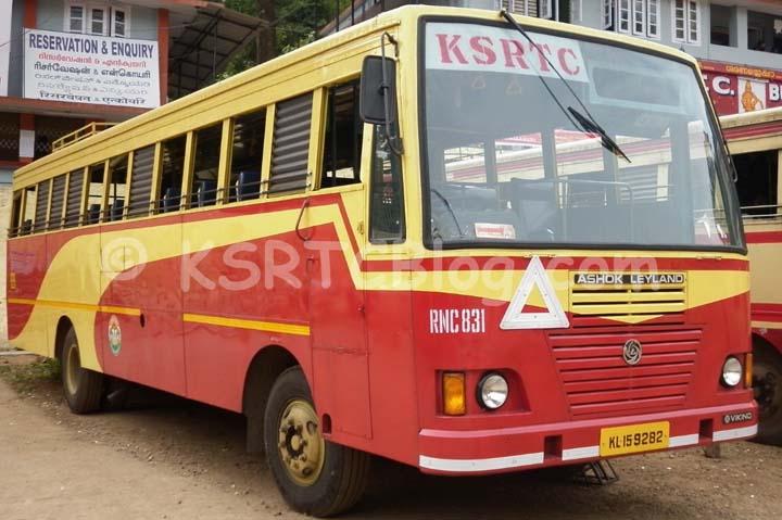 ksrtc bus in amrita medial college