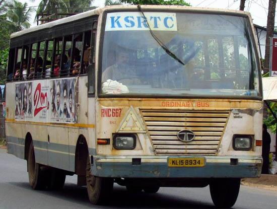 RNC667 ksrtc ordinary bus