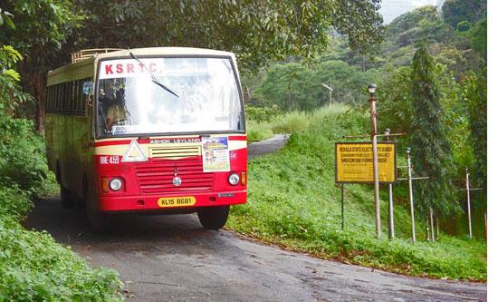 Ksrtc Bus To Moozhiyar Dam2 Ksrtc Blog Aanavandi Blog