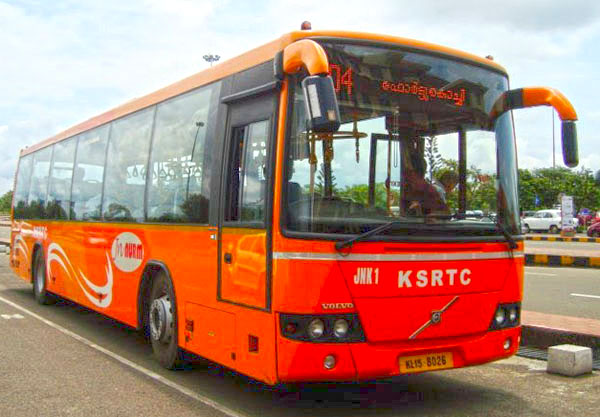 Cochin Ksrtc Volvo Buses To Airport Every Half An Hour
