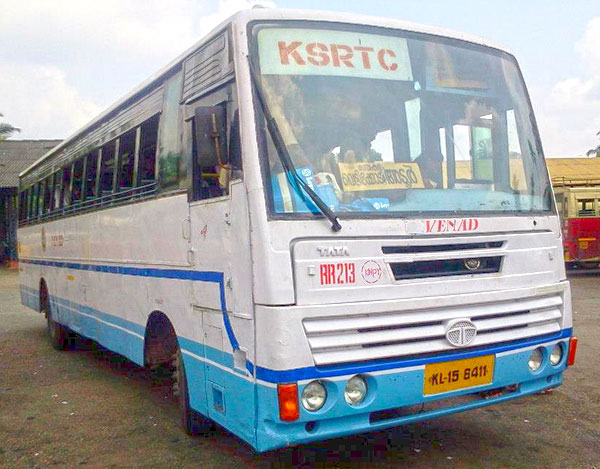 Finally, RR 213 As a Venad bus with Karunagappally depot doing some local trip.