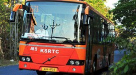 Bus Terminal at Eenchakkal to take off