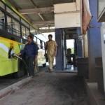 ksrtc bus filling diesel
