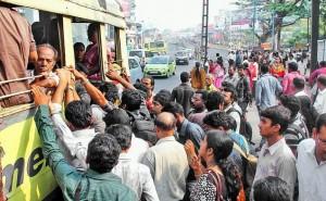 ksrtc bus strike