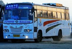 kottarakkara bangalore ksrtc deluxe bus