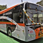Bangalore testing Electric Bus - given free by BYD company.