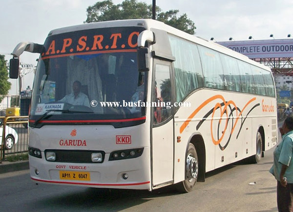 APSRTC to Hire 800 More Buses by December-end