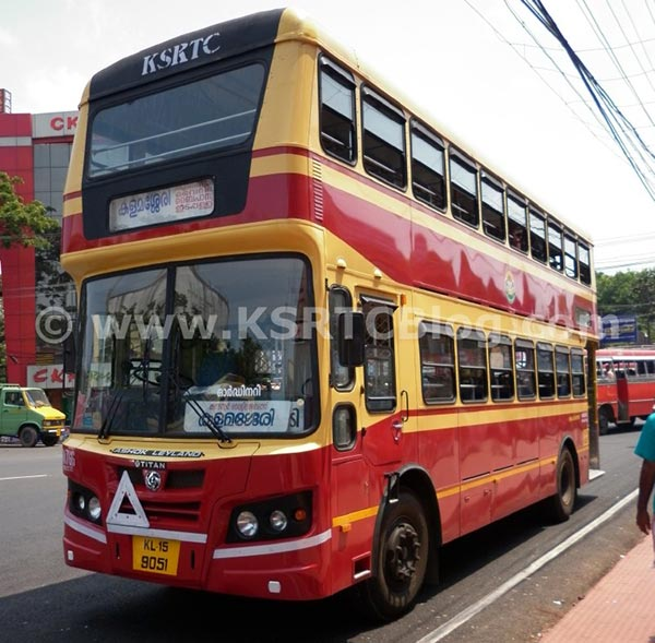 ksrtc-double-decker-bus