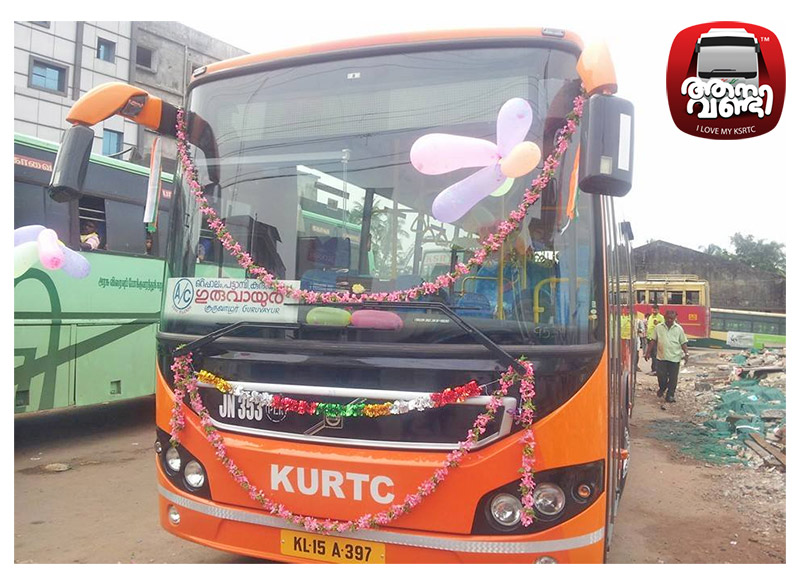 New KURTC Volvo AC buses running at snail's pace