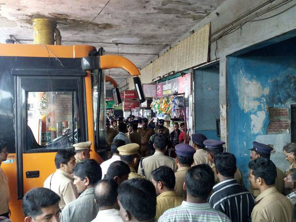 Two blind men killed as KSRTC bus rams into crowd
