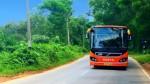 ksrtc volvo bus of wayanad