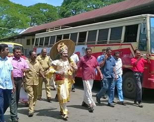 onam celebration ksrtc employees