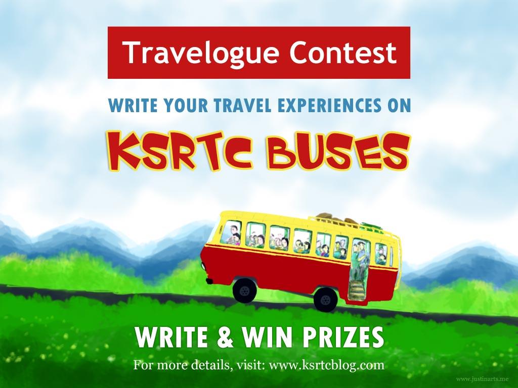 KSRTC Blog Travelogue Contest