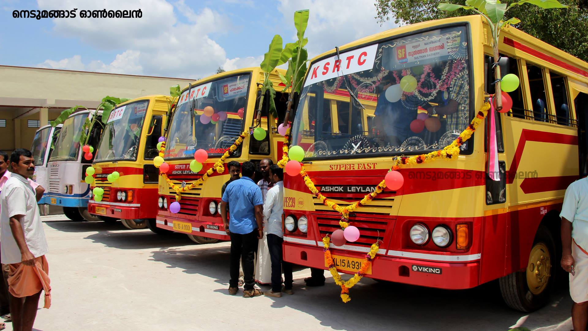 Inauguration of New KSRTC Bus Terminal at Nedumangad