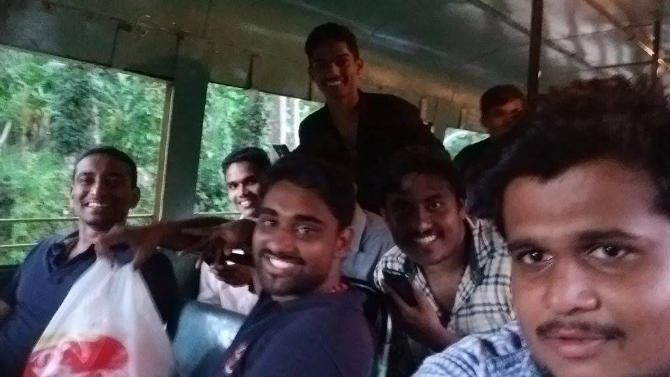 Students Celebrated their friend's Birthday in KSRTC Bus