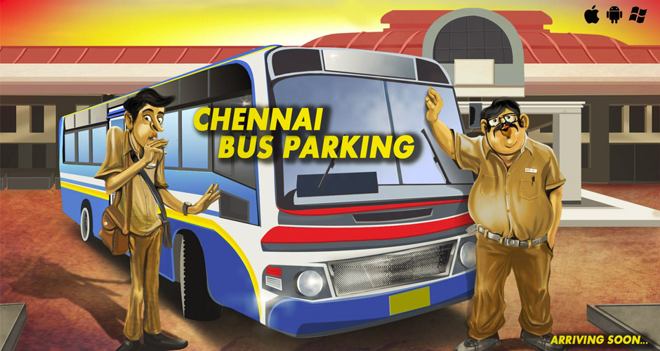 Chennai Bus Parking 3D – Get set for a fun ride