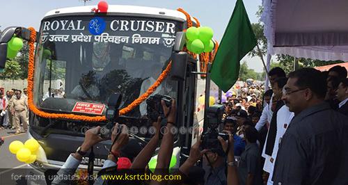 UPSRTC SCANIA Bus : Delhi to Lucknow UP - Aanavandi Travel Blog