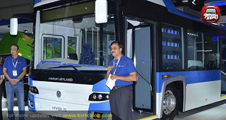 India's first non-plug-in hybrid bus from Ashok Leyland