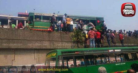 38 injured as Private buses collide in Kozhikode
