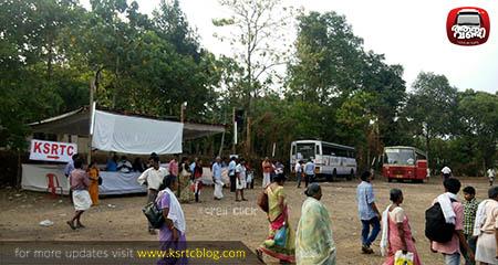 KSRTC Special Services to Manjanikkara Church