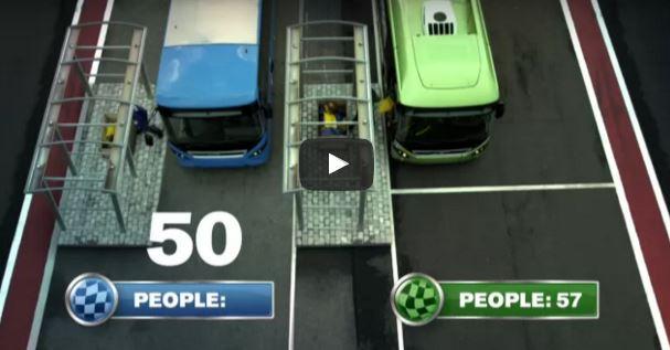 The Farathon – the World's first bus race – 2011