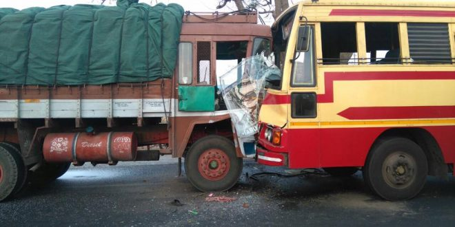 Kannur – Madurai Superfast met accident