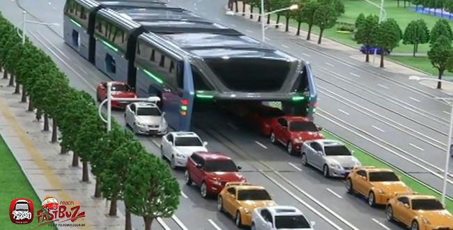 China's New Bus design; Simply and mind-blowing