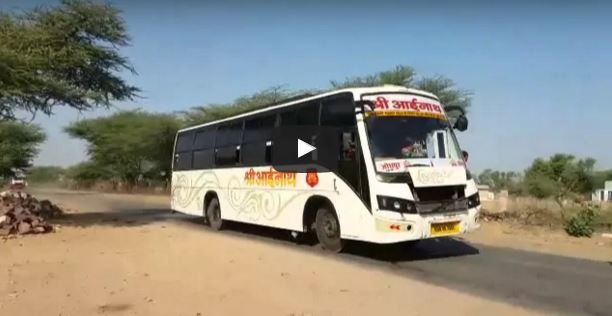 Crazy Bus Drivers In Rajasthan, India