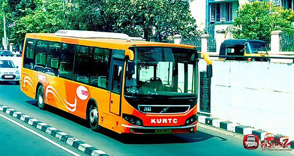 KURTC A/C LowFloor Buses from Ernakulam to Trivandrum