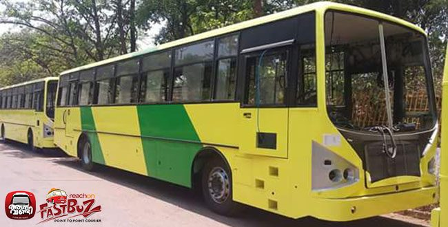 Brand new ACGL built buses on TATA 1618c SLF for KURTC