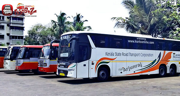 Mangalore – Tvm Scania resting at Mangalore Bus Terminal