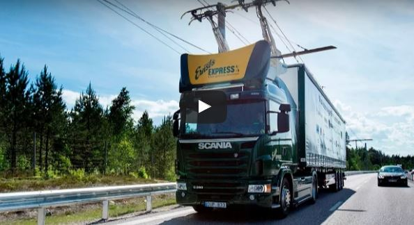 Sweden Opens world's first Electric Road
