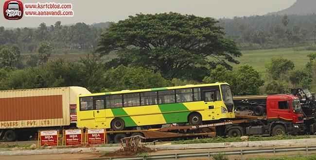 KURTC's New Tata ACGL Buses at Walayar Border
