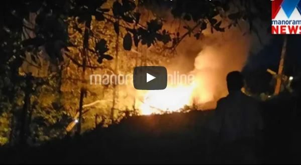 2 burn to death as ambulance explodes mysteriously in Muvattupuzha