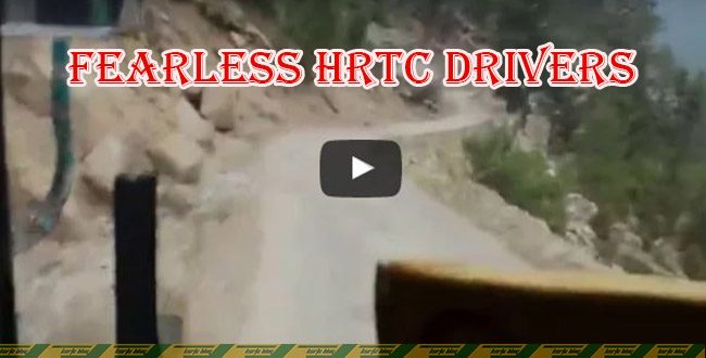 Fearless HRTC drivers on Rakcham – Chitkul route