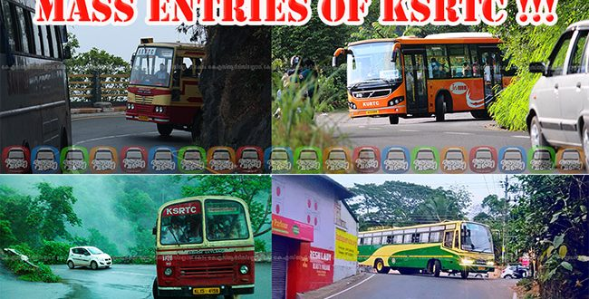 Mass Entries of KSRTC with Kabali Special BGM