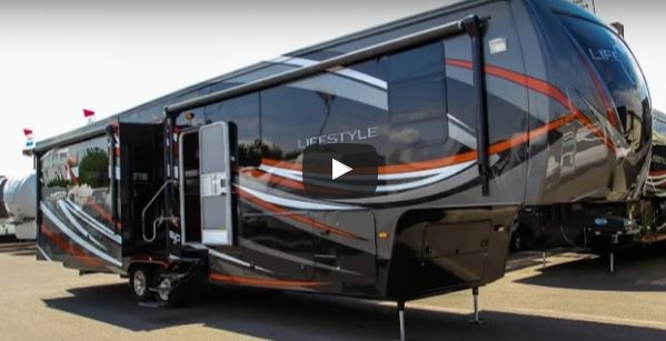 Amazing Luxury Bus : 2016 Lifestyle Luxury RV 38RS