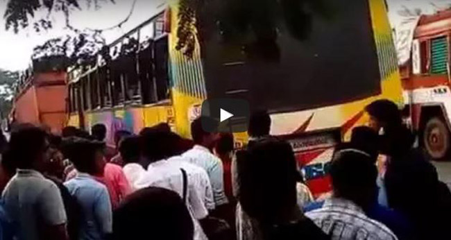 Image result for drunk person attacked girl in bus at kasargod