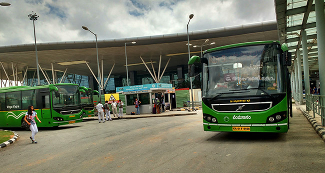 how to go to mysore from bangalore by bus