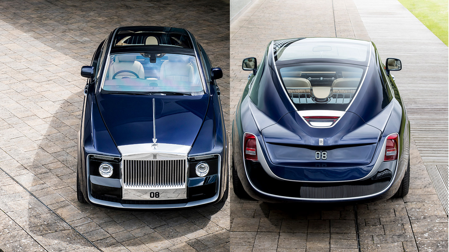 World s Most Expensive Car $12 8 Million Rolls Royce