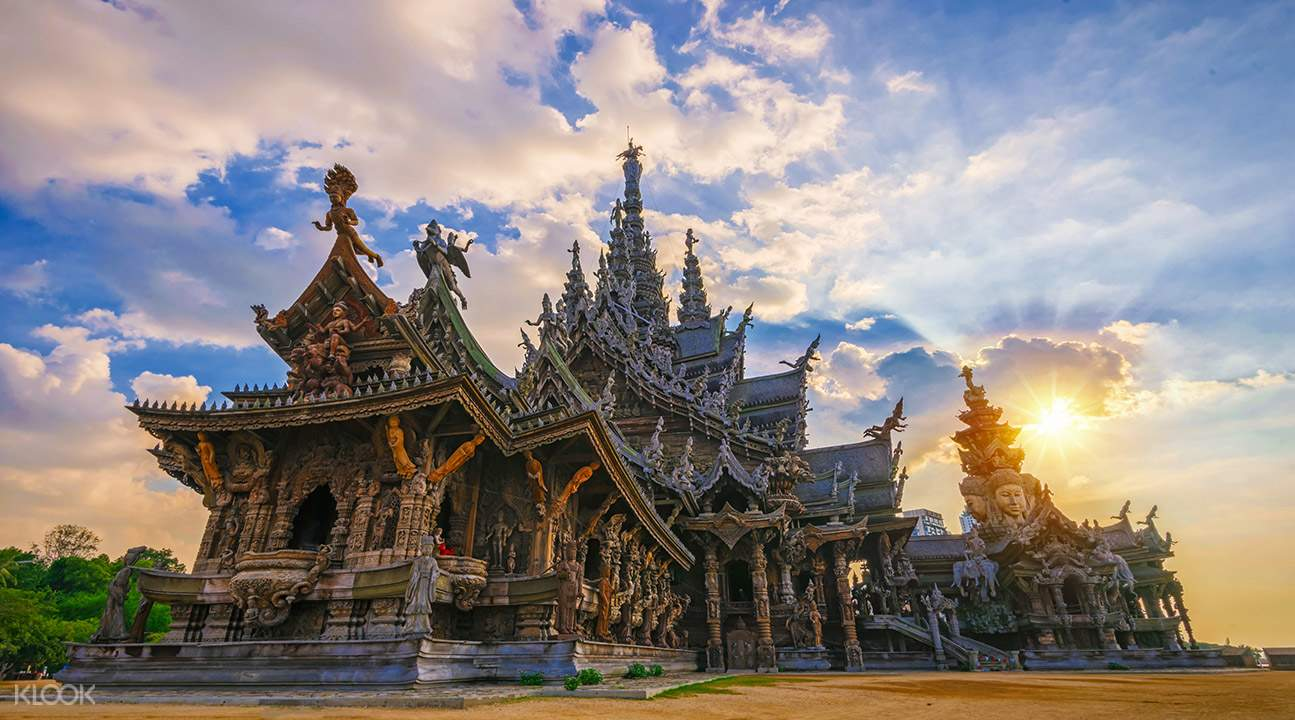 Image result for pattaya Sanctuary of Truth.