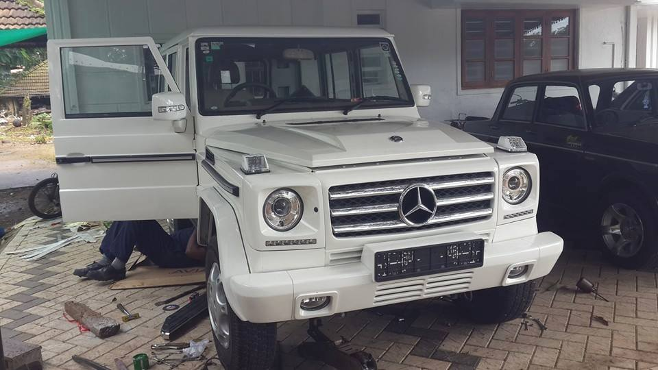 Convert Your Mahindra Bolero To Mercedes Benz G Wagen For