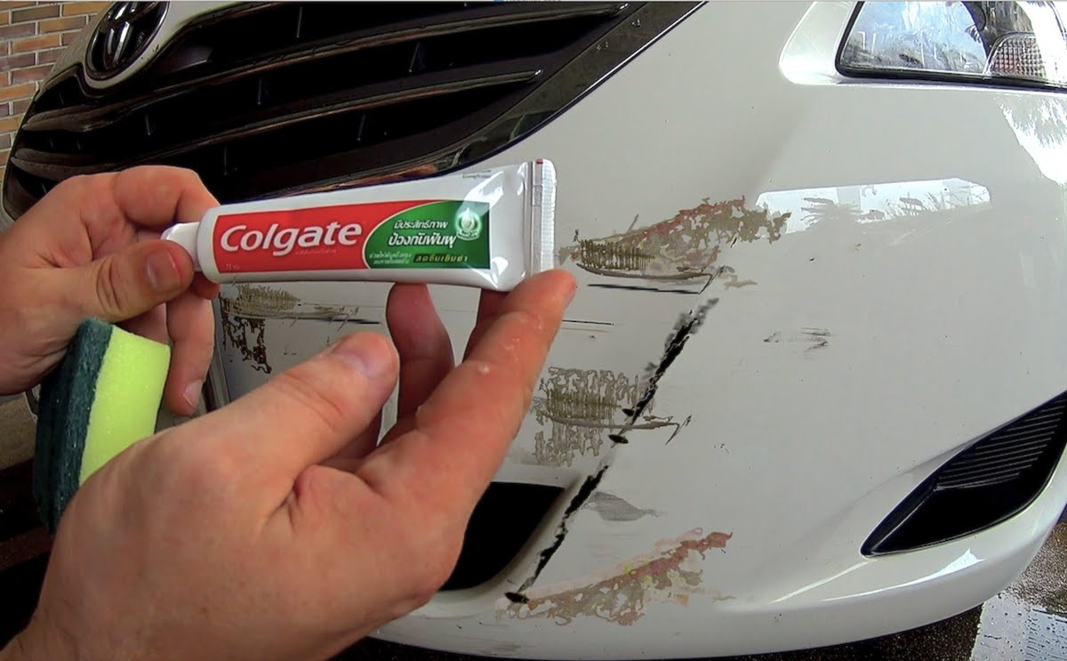 How To Get Paint Scratch Off Car