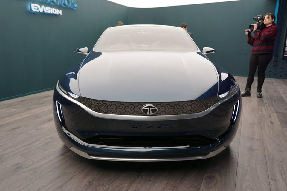 Tata Unveils Evision Sedan Concept At Geneva Motor Show
