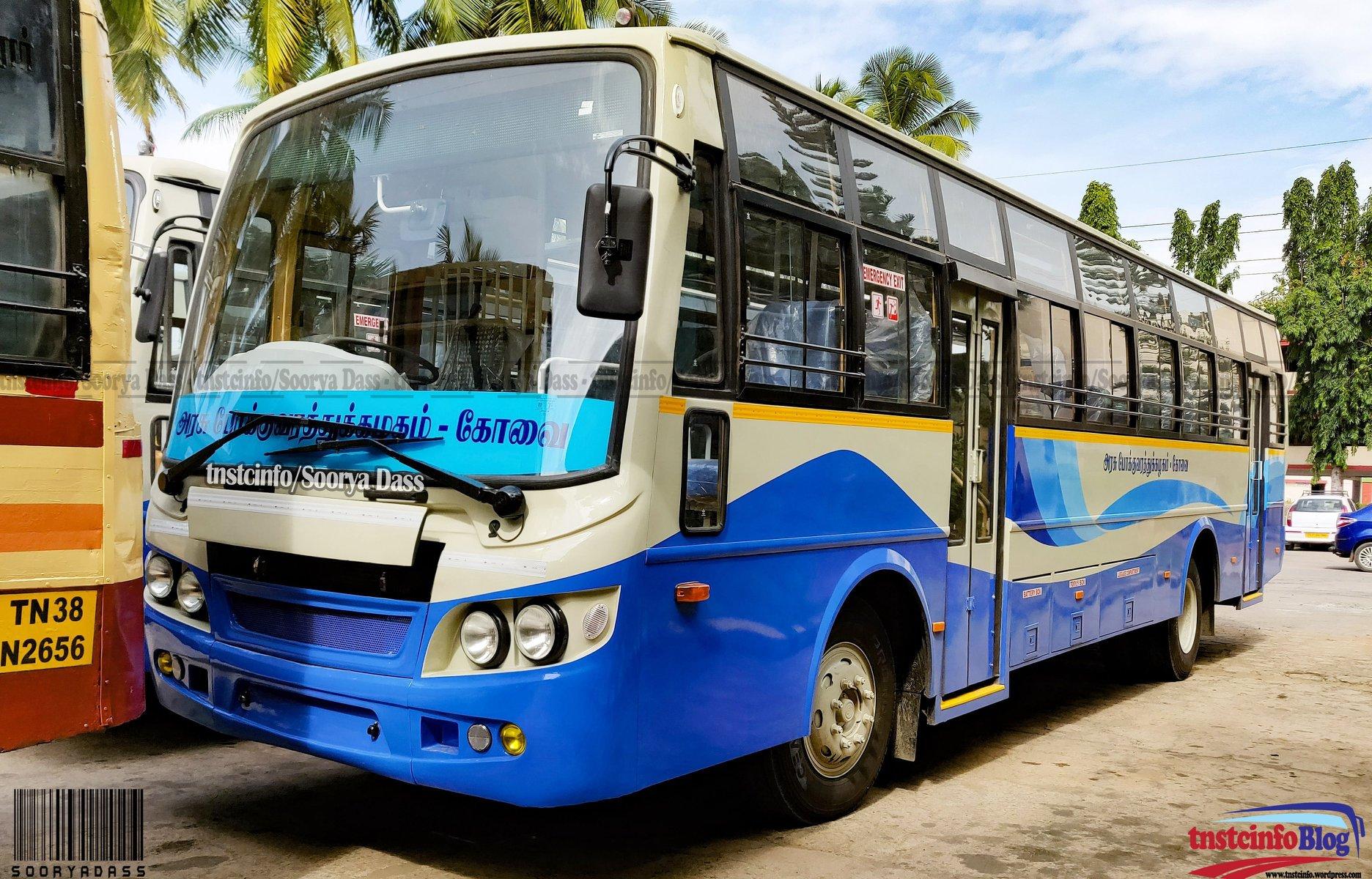 TNSTC to deploy 430 new buses - Aanavandi Travel Blog