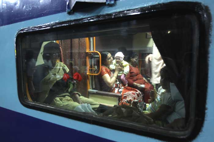 what facilities are given in the ac coach of a train in india
