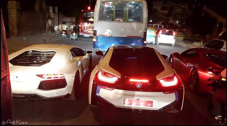 Lamborghini Cars On Indian Roads Interesting Funny Images