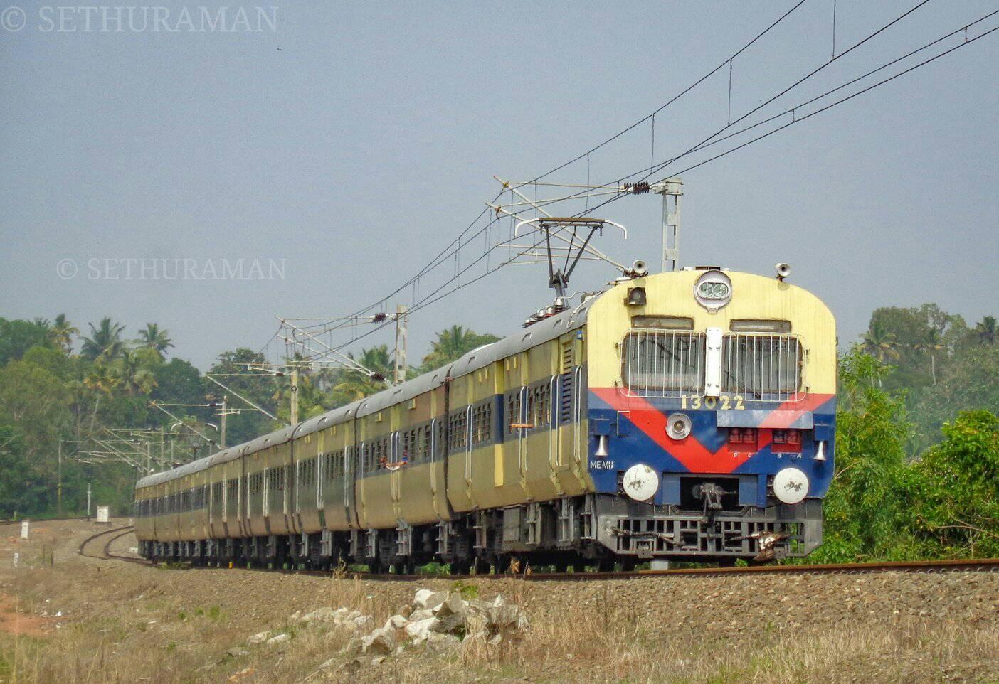 What is the difference between MEMU and DEMU trains