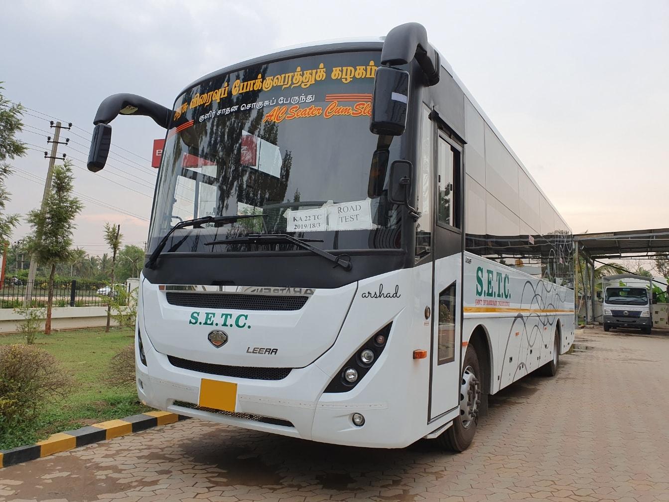 Introducing Ashok Leyland MG Alma Leera model for SETC Tamil Nadu